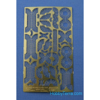 Photo-etched set 1/350 Warships handles and guard rails