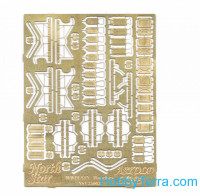 Photo-etched set 1/350 WWII IJN hatches