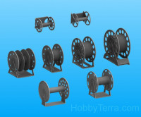 WWII USN Cable reels set