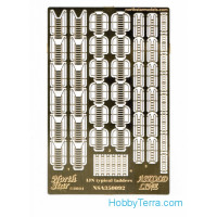 Photo-etched set 1/350 WWII IJN typical ladders