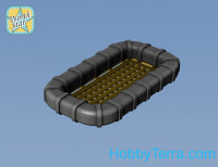 WWII life rafts for battleships class Iowa, 30 pcs (resin & pe)