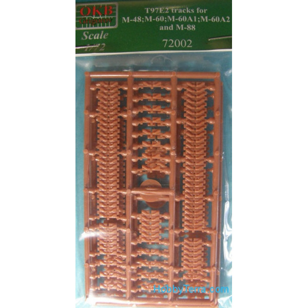 T97E2 tracks for tanks M-48;M-60;M-60A1;M-60A2 and M-88