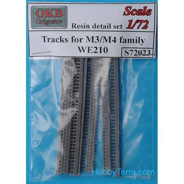 Tracks 1/72 for M3/M4 family, WE210