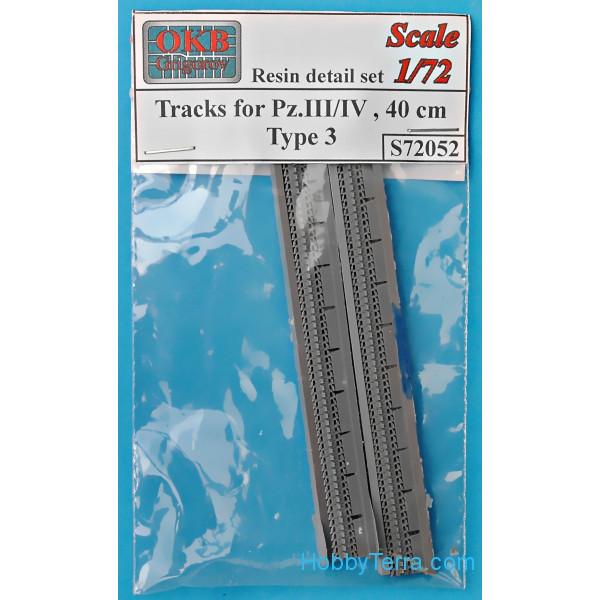 Tracks for Pz.III/IV, 40 cm, type 3