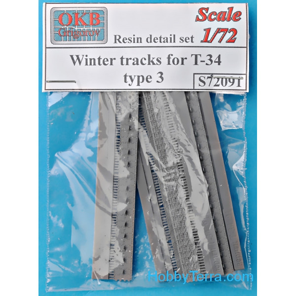 OKB Grigorov  72091 Winter tracks for T-34, type 3