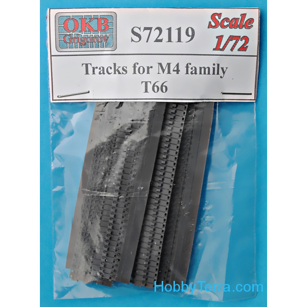 Tracks for M4 family, T66