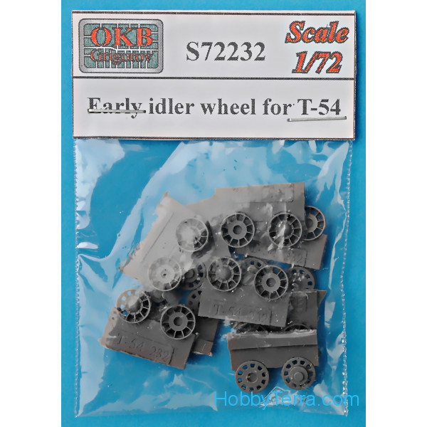 Early idler wheel for T-54 (10 per set)