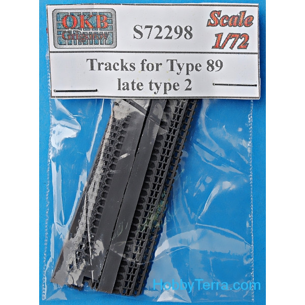 Tracks 1/72 for Type 89, late, type 2