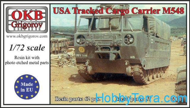 M548 U.S. tracked cargo carrier