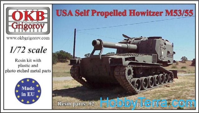 M55 U.S. self-propelled howitzer