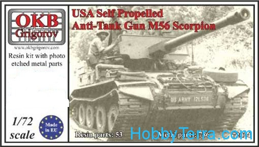 M56 Scorpion USA Self Propelled Anti-Tank Gun