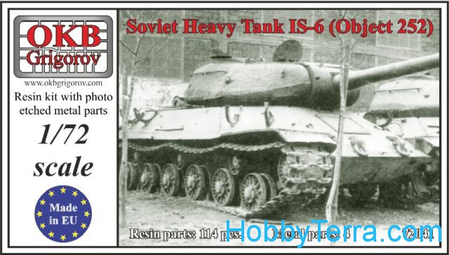 Soviet Heavy Tank IS-6 (Object 252)
