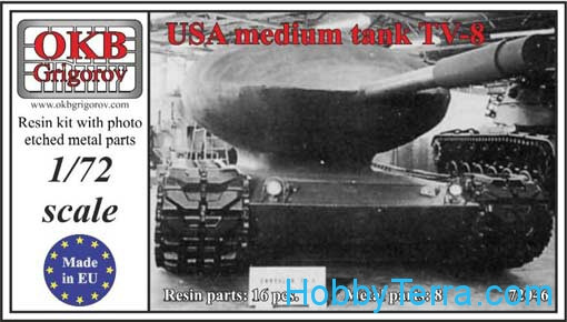 USA medium tank TV-8