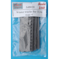 Winter tracks 1/48 for T-34, type 4