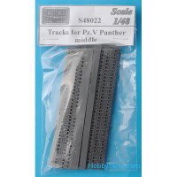 Tracks 1/48 for Pz.V Panther, middle