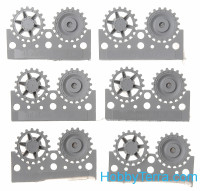Sprockets 1/48 for Pz.IV, 40cm tracks