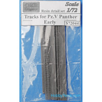 Tracks 1/72 for Pz.V Panther, early