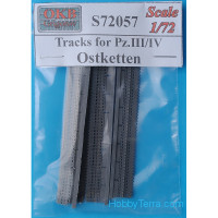 Tracks 1/72 for Pz.III/IV, Ostketten