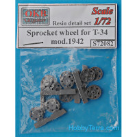 Sprocket wheel for T-34, mod.1942 (6 pcs)