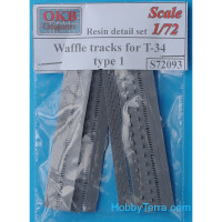 Waffle tracks 1/72 for T-34, type 1