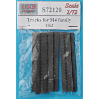 Tracks for M4 family, T62