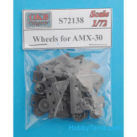 Wheels for AMX-30 (Heller)
