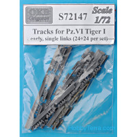 Tracks for Pz.VI Tiger I, early (24+24 per set)