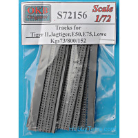 Tracks for Tiger II,Jagtiger,Panther II,E50,E75,Lowe, Kgs73/800/152