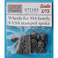 Wheels for M4 family, VVSS stamped spoke