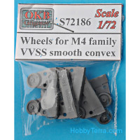 Wheels for M4 family, VVSS smooth convex