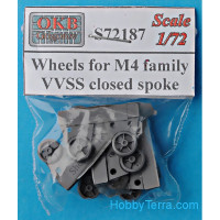 Wheels for M4 family, VVSS closed spoke