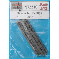Tracks 1/72 for Pz.38(t), early