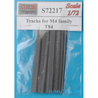 Tracks 1/72 for M4 family, T84