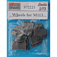 Wheels set 1/72 for M113