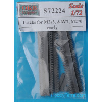 Tracks 1/72 for M2/3, AAV7, M270, early type
