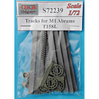 Tracks 1/72 for M1 Abrams, T158L