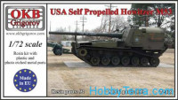 M53 U.S. self-propelled howitzer