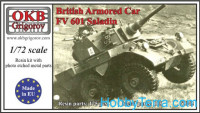 "British Armored Car FV 601 ""Saladin"""