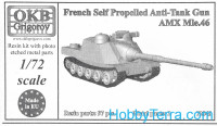 AMX Mle.46 French self-propelled anti-tank gun