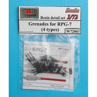 Grenades for RPG-7 (4 types)