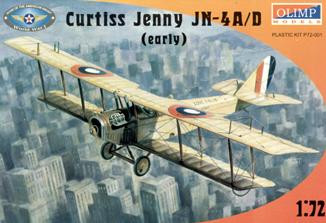 "Curtiss ""Jenny"" JN-4A/D (early) fighter"