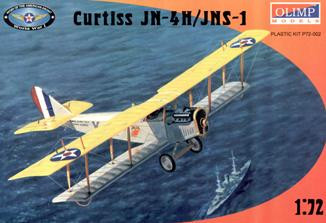 Curtiss JN-4H / JNS-1 WWI USAF training fighter
