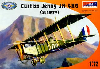 Curtiss Jenny JN-4HG (gunnery) training fighter