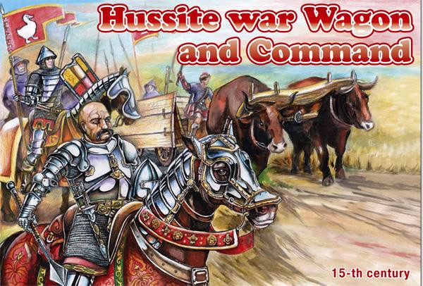 Orion  72039 Hussite War Wagon and Command