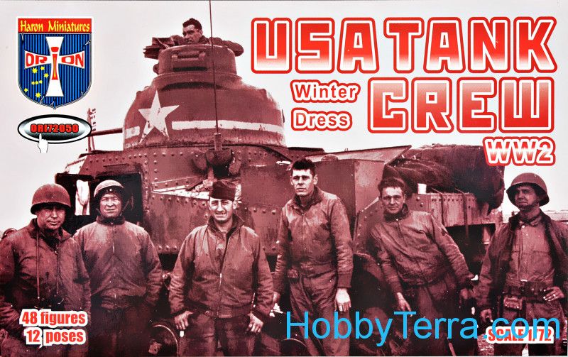Orion  72050 WWII U.S. tank crew (winter dress)