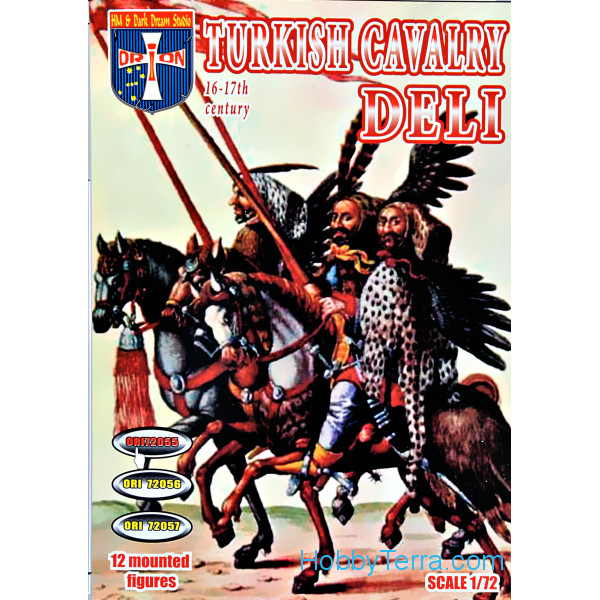 Orion  72055 Turkish cavalry (Deli), 16-17 centuries