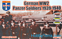 German WW2 Panzer Soldiers 1939-1940