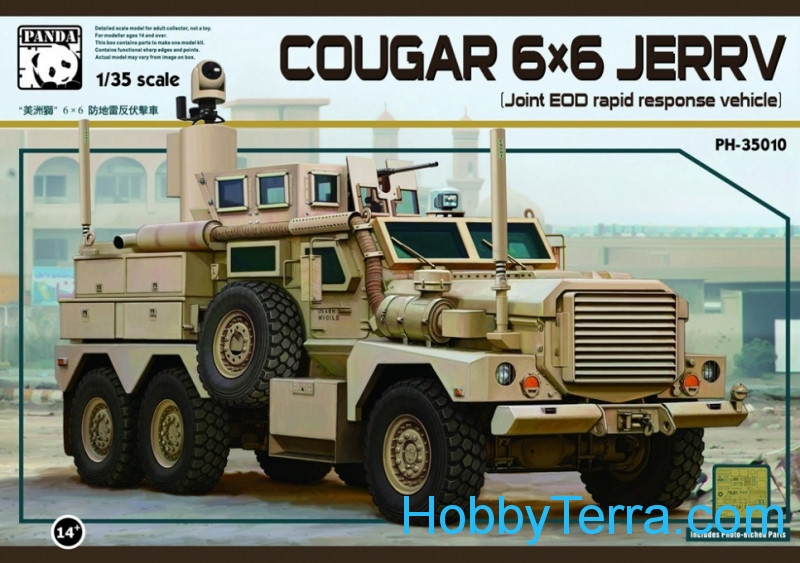 "Cougar 6x6 MRAP ""Jerry"""