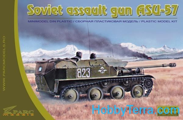 Parc Models  3502 Soviet assault gun ASU-57