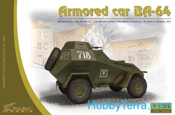Parc Models  3506 Light armoured car BA-64